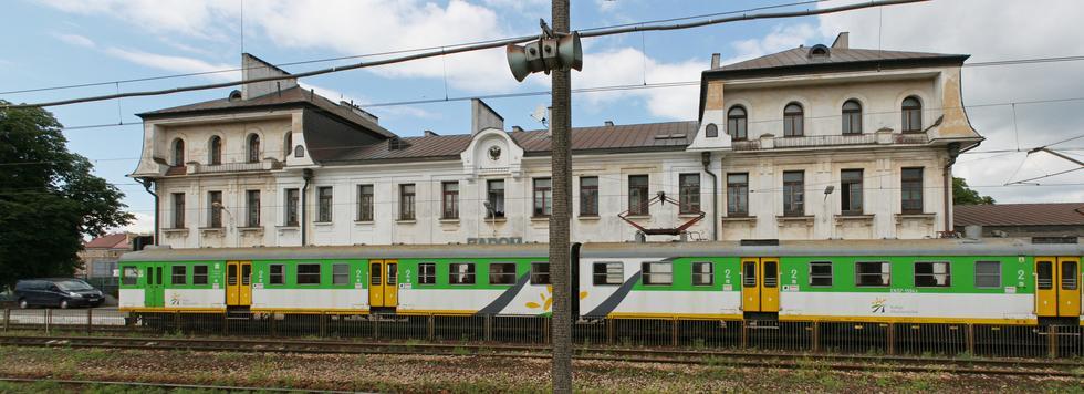 Dworzec kolejowy w Radomiu przed remontem, 2009. Fot. ©Paweł Marynowski / Wikimedia Commons