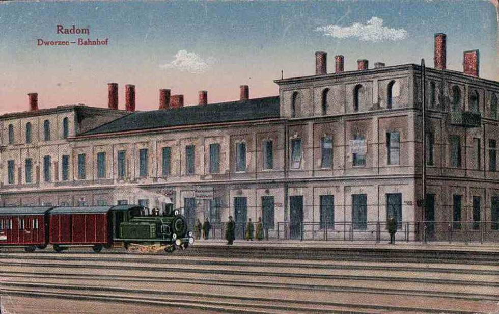 Dworzec kolejowy w Radomiu; fot. za www.fotopolska.eu