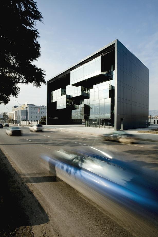 Prokuratura w Tibilisi. Projekt budynku przygotowało biuro architektoniczne Architects of Invention