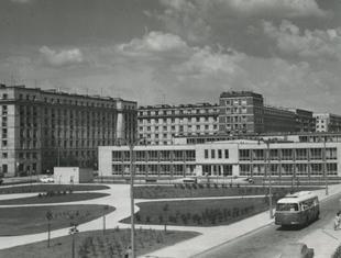 Socrealistyczna architektura Warszawy. Praski MDM