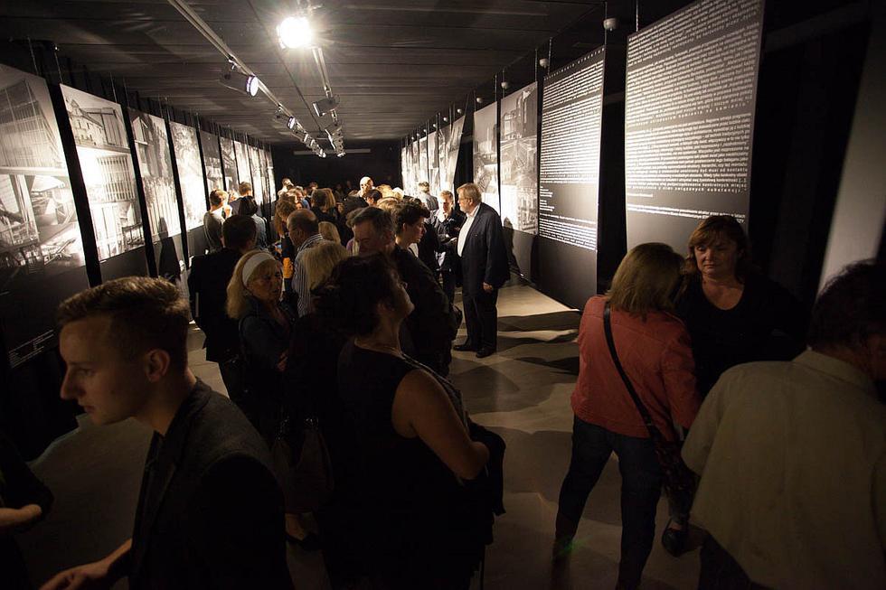 Wernisaż wystawy Poszukiwanie struktur. Galeria Architektury GAGA w Krakowie. Fot. Paweł Krawczyk / GAGA