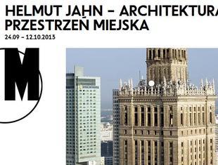 Wystawa w Pawilonie SARP: Helmut Jahn – Architektura + Przestrzeń miejska
