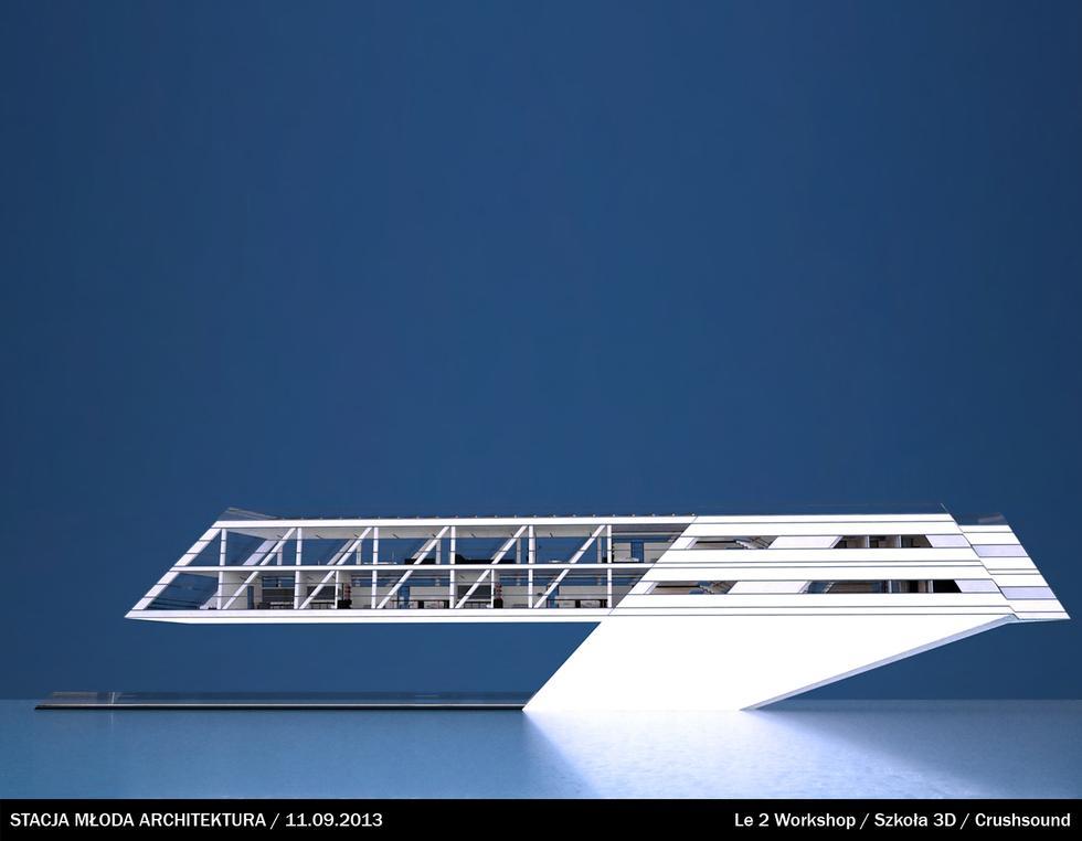 Dom na wodzie, prezentacja Le 2 Workshop, Stacja Młoda Architektura 11 września