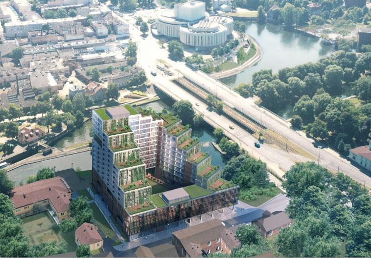 Lokalizacja apartamentowca Nordic Haven