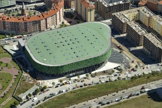 Bilbao Arena, widok z góry. Fot. ©Ayuntamiento de Bilbao
