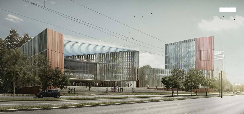 II nagroda. Projekt Ratusza Marszałkowskiego w Krakowie. Autorzy: Taller de Arquitectos Colaboradores SLP & R. Sanabria Arquitectes Associats SLP