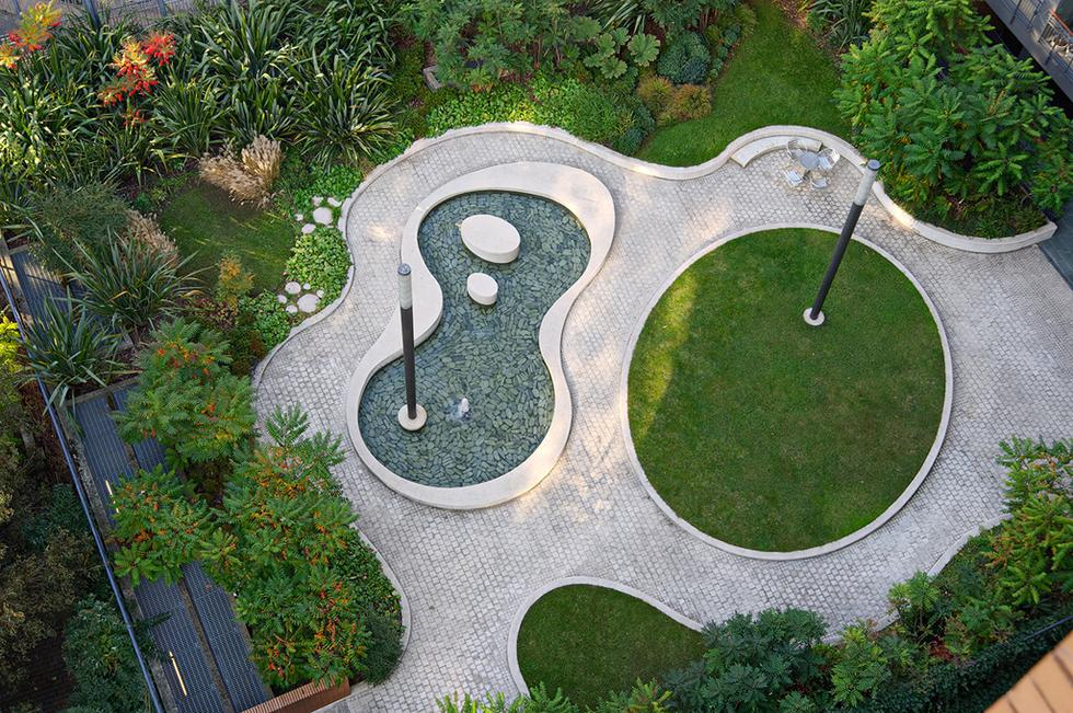Lexington garden, proj. Robert Myers. Fot. materiały prasowe Stowarzysznia Architektury Krajobrazu