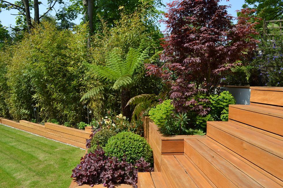 Ogród prywatny, Highgate Londyn, proj. Kate Gould. Fot. materiały prasowe SAK 2013