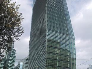 Najwyższy budynek we Włoszech o konstrukcji stalowej. Wieżowiec Torre Diamante
