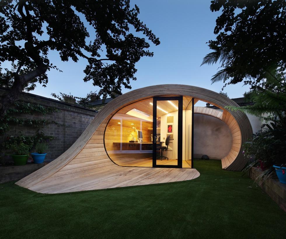 Platform 5 Architects, inżynierów z firmy Morph Structures i projektantów z Millimetre