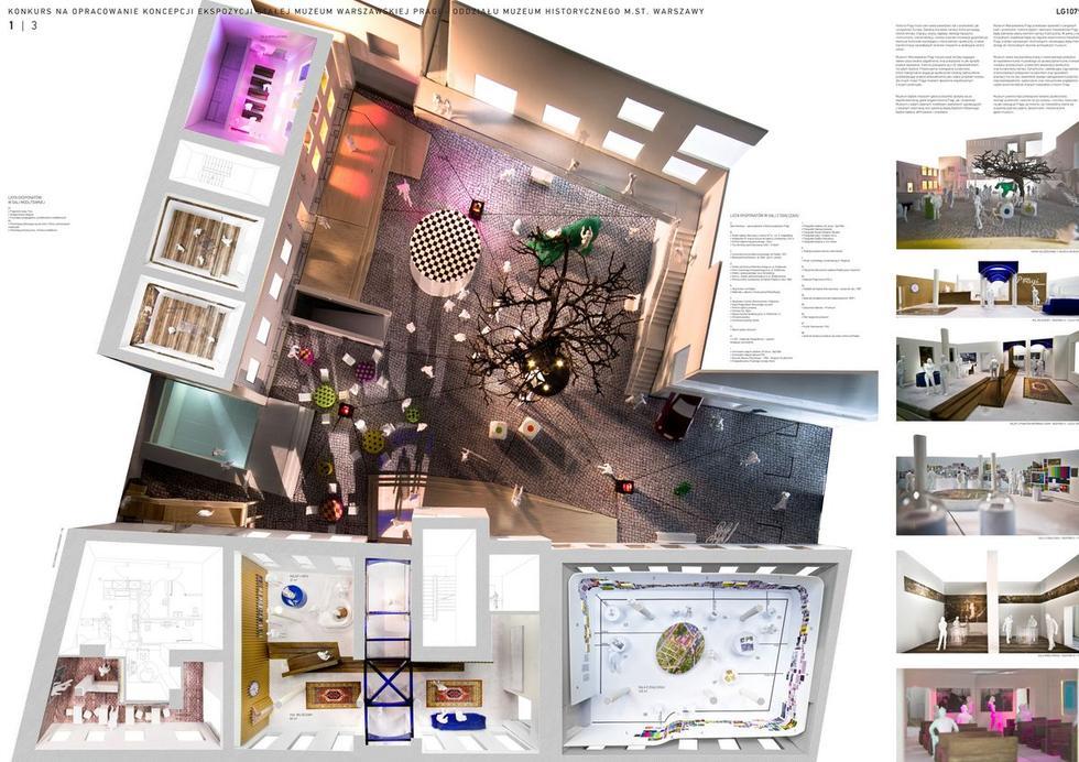 Wystawa stała w Muzeum Warszawskiej Pragi. Koncepcja: 137kilo Architekci – Projektanci Jan Sukiennik