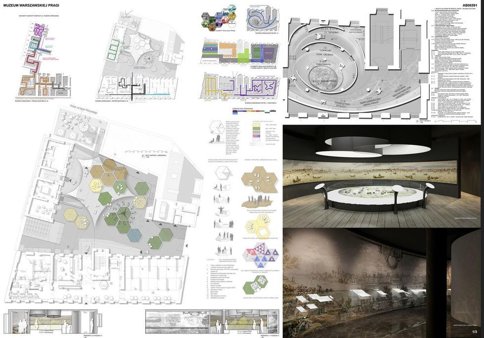 KIPP Projekt Sp. z o.o, II nagroda w konkursie na koncepcję scenariusza i koncepcję plastyczno – przestrzenną stałej wystawy w Muzeum Warszawskiej Pragi