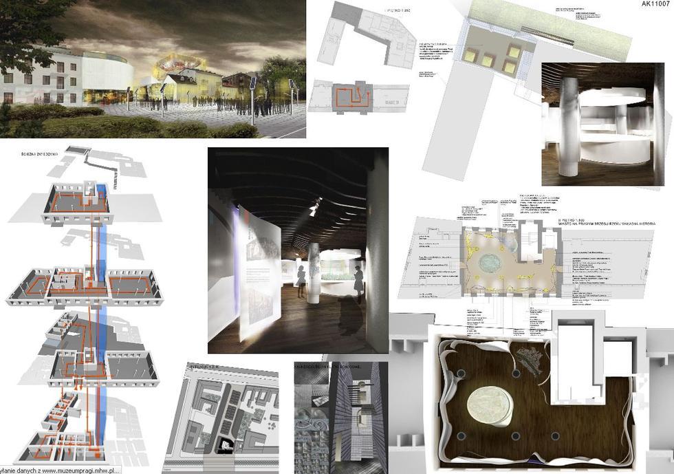 ARCHISTUDIO Sp. z o.o. PRACOWNIA ARCHITEKTONICZNA - A.Kleinrok & W.Kleinrok Architectes & Partenaires; wyróżnienie w konkursie