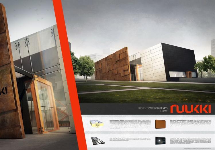 Energooszczędny pawilon EXPO Ruukki. Konkurs studencki
