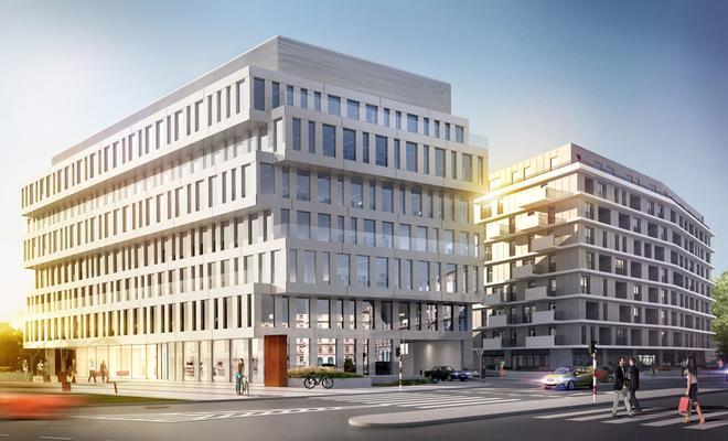 Nowe inwestycje w Warszawie. Budynek biurowo-usługowy DUBOIS 41