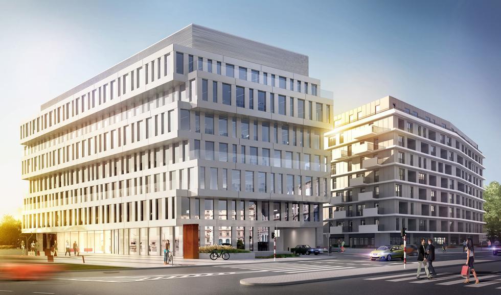 Budynek biurowo-usługowy DUBOIS 41