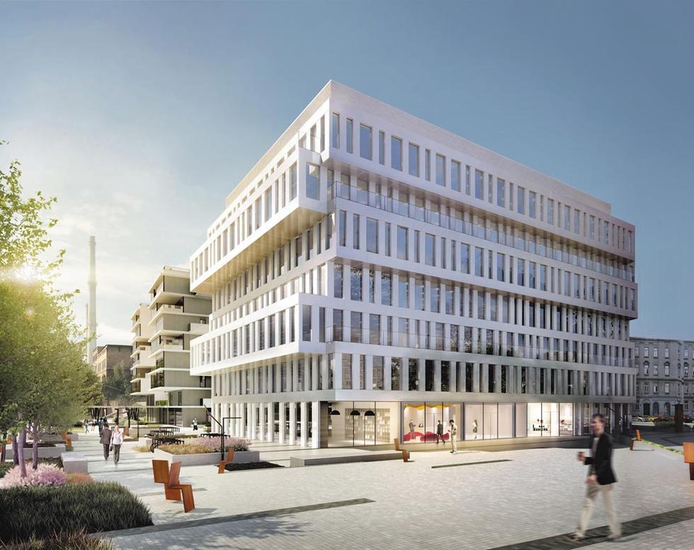Współczesna architektura Wrocławia: biurowiec na Nadodrzu, Dubois 41