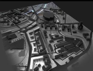 Architektura Lublina: prezentacja projektów urbanistycznych dla Ronda Lubelskiego Lipca'80