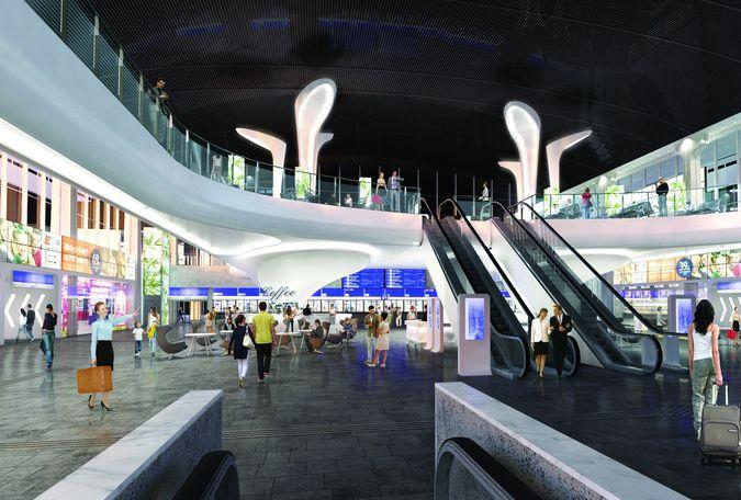 Planowana modernizacja Dworca Centralnego zakończy się w 2015 roku
