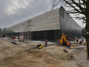 Aktualne zdjęcia z budowy Afrykarium dla ZOO we Wrocławiu