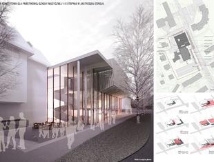 KONIOR STUDIO zwycięzcą konkursu architektonicznego na projekt sali koncertowej szkoły muzycznej w Jastrzębiu