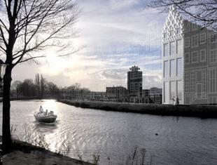 Współczesna architektura z drukarki 3D: w Amsterdamie trwają prace nad pierwszym drukowanym budynkiem