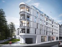 Architektura Gdyni: rusza budowa Baltiq Plaza projektu Wolski Architekci