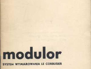 Modulor Le Corbusiera - system wymiarowania w architekturze nowoczesnej