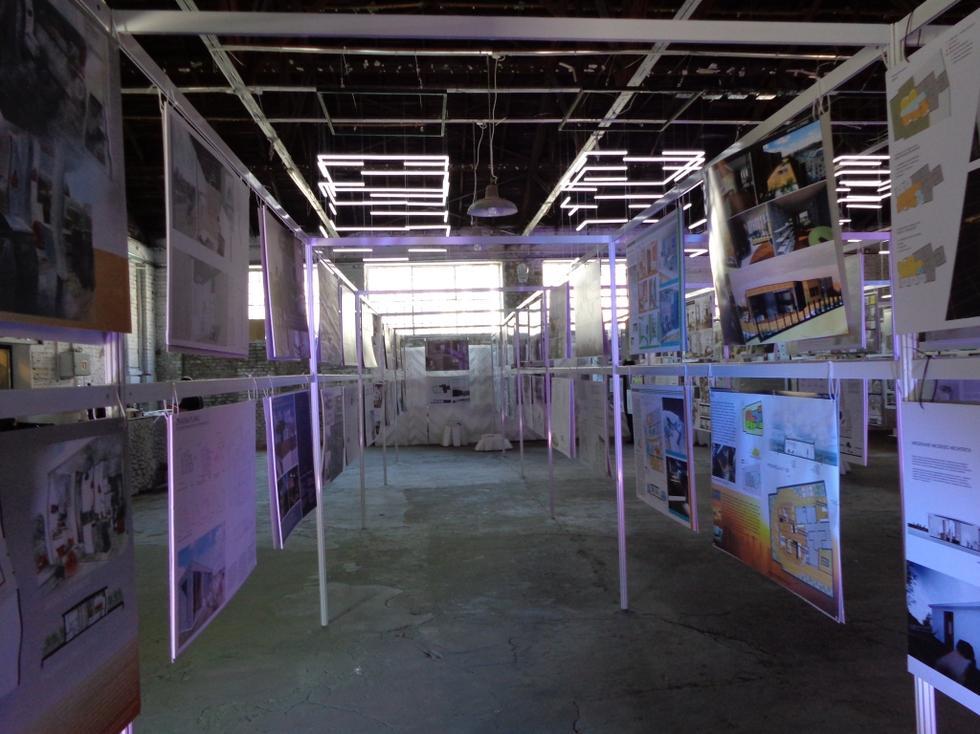Prace nadesłane na konkurs studencki Mieszkanie młodego architekta