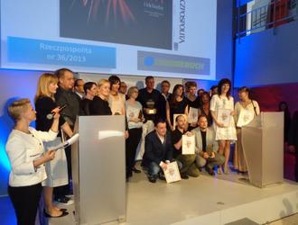 """II nagroda i wyróżnienie dla """"Architektury-murator"""" w konkursie Grand Front 2013"""