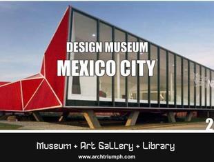 Muzeum Designu w Meksyku. Międzynarodowy konkurs architektoniczny