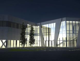 Nowy biurowiec i salon wystawienniczy Matex. Projekt pracowni F3 Architekci z Poznania