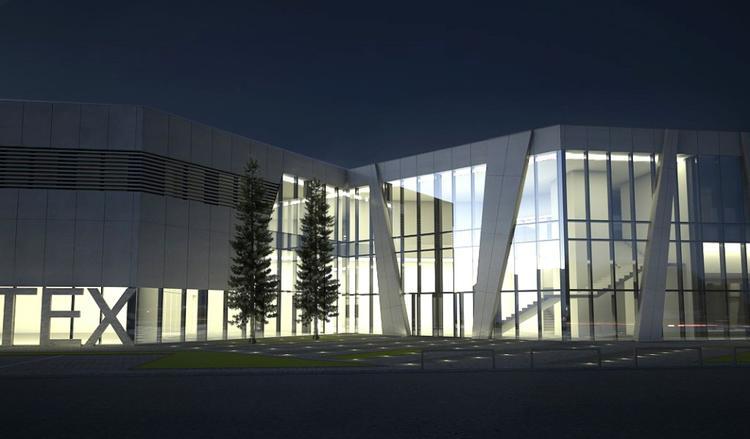 F3 Architekci, Nowy biurowiec i salon wystawienniczy Matex