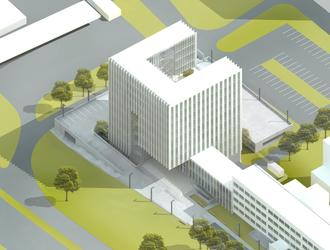 Architektura Katowic: projekt Sądu Rejonowego Katowice-Wschód
