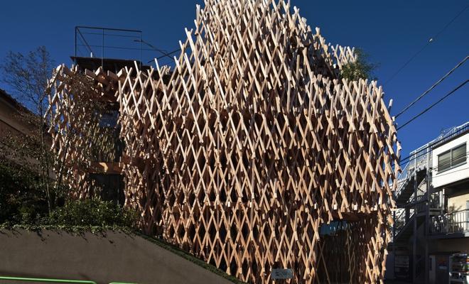 Sunny Hills w Tokio projektu Kengo Kumy. Współczesna architektura japońska