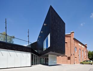 Adaptacja budynku elektrociepłowni na Mazowieckie Centrum Sztuki Współczesnej w Radomiu. Kikowski Architekci