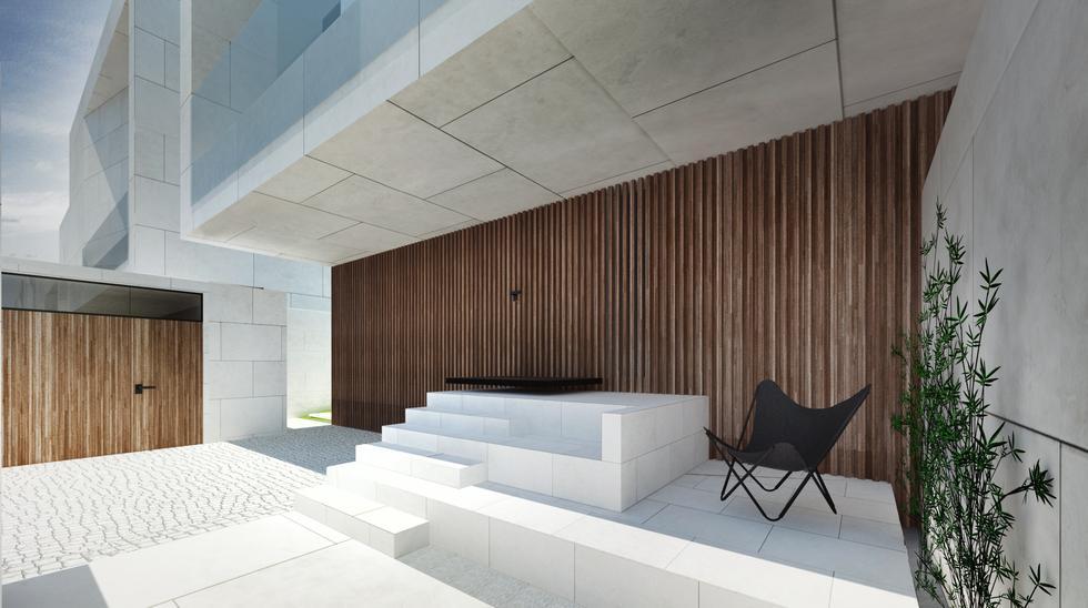 Moomoo architects, strefa wejściowa