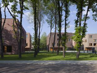 Wille Parkowa projektu Konior Studio. Współczesna architektura ceglana w Katowicach