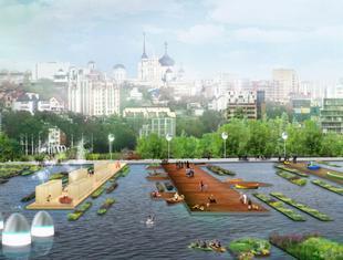 Miasto tysiąca pomostów. BudCud zwycięzcą konkursu na rewitalizację zbiornika wodnego w Woroneżu