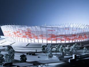 Stadion Narodowy jak koszyk