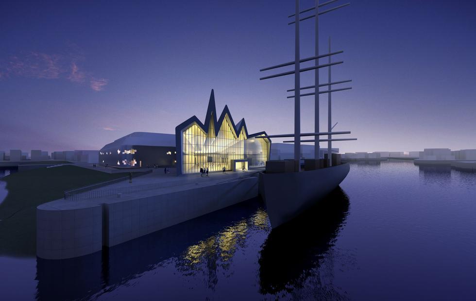 fotka z /zdjecia/ZHA_GLASGOW_MUSEUM_OF_TRANSPORT_South_Night_BIG.jpg