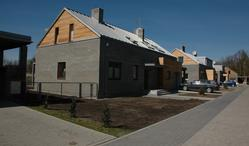Osiedle domów jednorodzinnych przy ul. Szklarniowej w Sulejówku