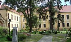 Adaptacja barokowego pałacu na Publiczne Gimnazjum w Lewinie Brzeskim