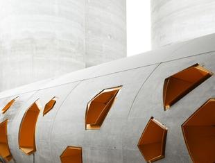 Architektura przemysłowa. Centrum dystrybucji cementu w Paryżu