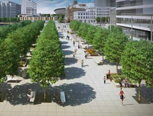 Nowe centrum Katowic
