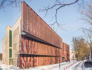 Uniwersytecka aula w Białymstoku