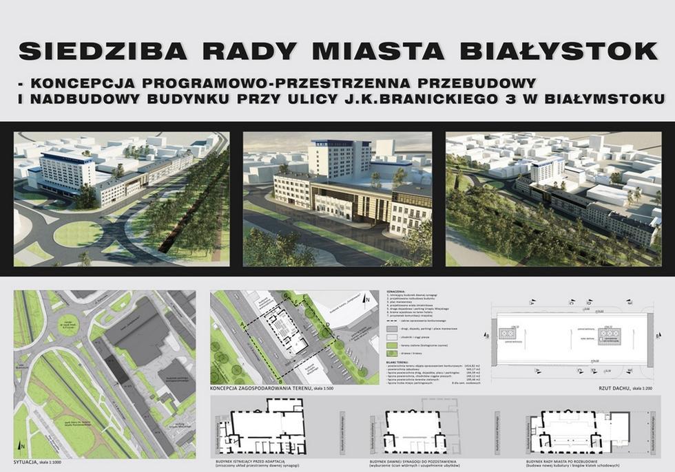 Bożnica, Białystok, Pracownia Projektowa Kaczyński i spółka