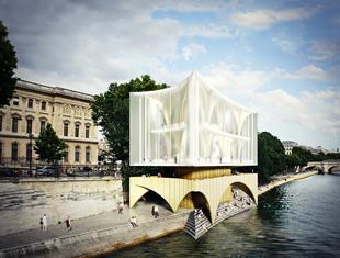 Prace polskich projektantów wyróżnione w międzynarodowym konkursie River Champagne Bar