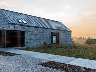 Dom na Jurze projektu Kropka Studio: Małgorzata Łapaj & Kuba Kowalczyk