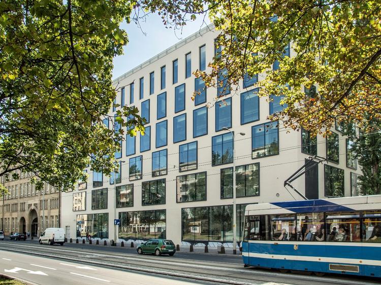 Szkoła muzyczna we Wrocławiu projektu Maćków Pracownia Projektowa